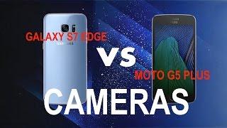 MOTO G5 PLUS VS S7 EDGE  CAMERA