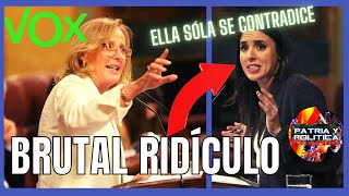 👉¡DESESPERADA!👈 VOX HUNDE a IRENE MONTERO en sus CONTRADICCIONES totalitarias / Lourdes Méndez