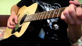 Shinedown-Simple man acoustic guitar cover