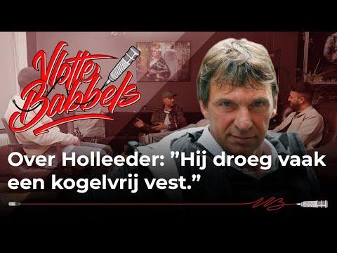 """Lange Frans -  Over Holleeder: """"Hij droeg vaak een kogelvrij vest.''"""