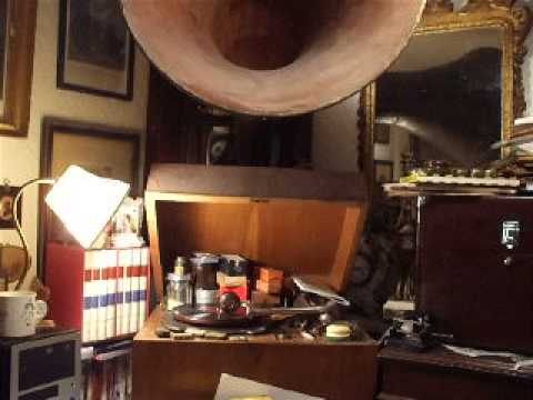 """""""Over There"""" (Cohan) Sung In English & French By Enrico Caruso Victrola 87294"""