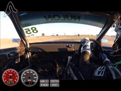 BYP Racing Time Attack DC2R - Wakefield Park 57.8 lap record