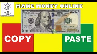 How to make money online by copy and paste ( new trick )