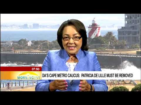 De Lille says she will not step down or resign