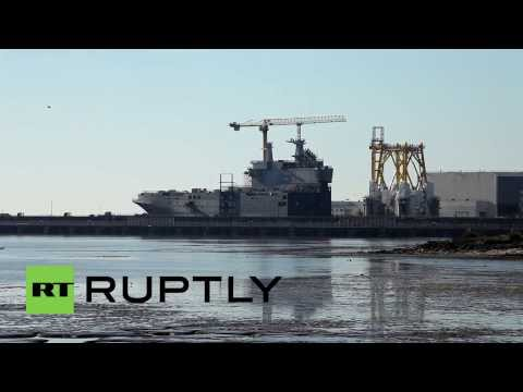 France: Will continue to sell warships to Moscow- French FM