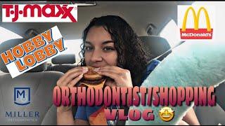 ORTHODONTIST/SHOPPING VLOG | NEW INTRO!!! | SAM'S LIFE