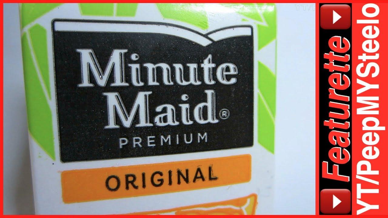 Minute Maid Orange Juice Kids