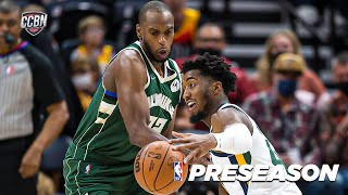 BUCKS at JAZZ | FULL GAME HIGHLIGHTS | NBA PRESEASON 2021-22