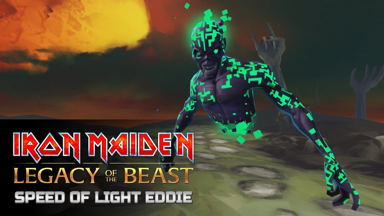 caeebfc1d36f Iron Maiden: Legacy of the Beast Speed of Light Eddie Special Attack ...