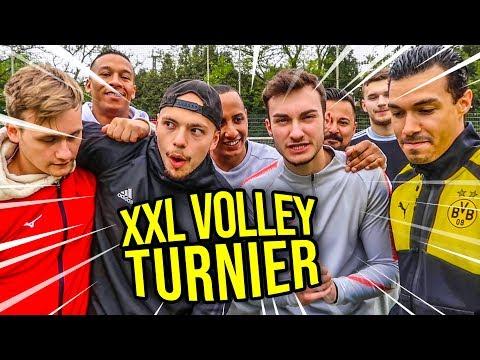 XXL VOLLEY TURNIER FUßBALL CHALLENGE !