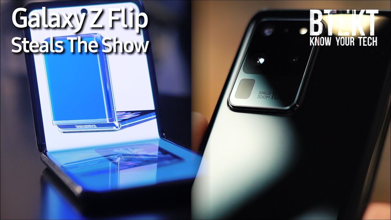 Samsung Hits Back at Apple With Galaxy S20 Ultra | But Galaxy Z Flip Steals the Show!