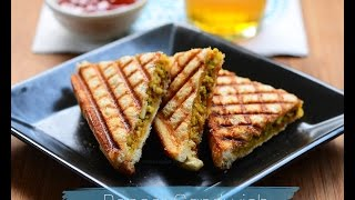 Paneer sandwich, how to make paneer sandwich