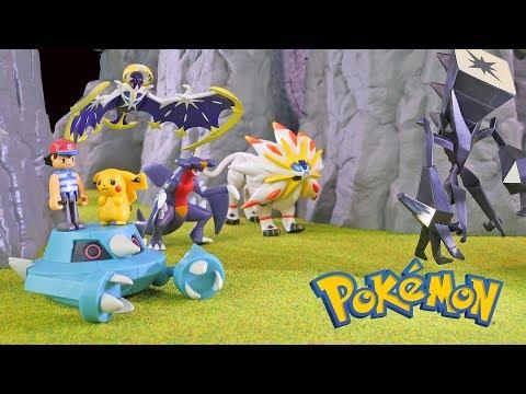 Pokemon Toy Battle!!