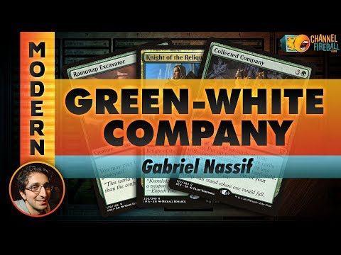 Channel Nassif - Modern G/W Company (Deck Tech & Matches)