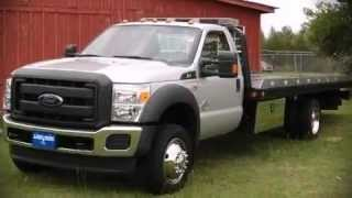 2012 Ford F550 Chassis Flat Bed Hauler Tow Truck
