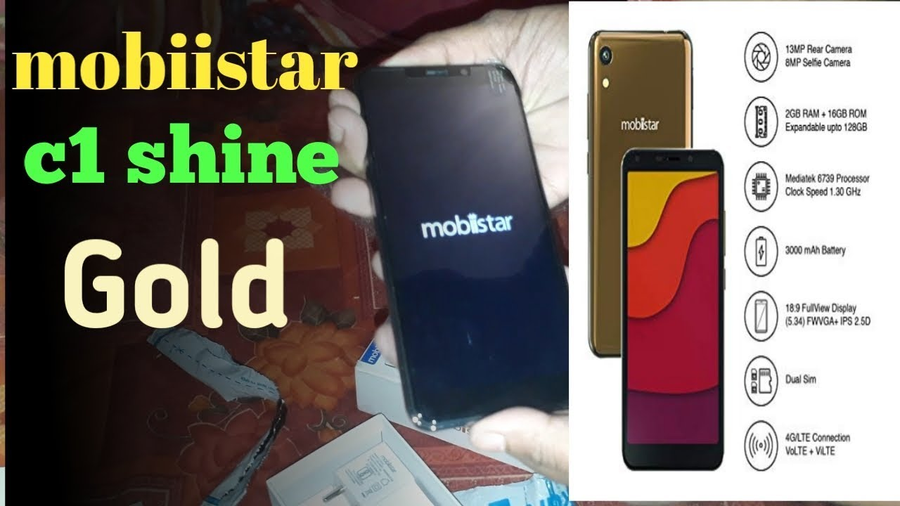 Unboxing mobiistar c1 shine Gold||Cheapest Smartphone||2GB RAM