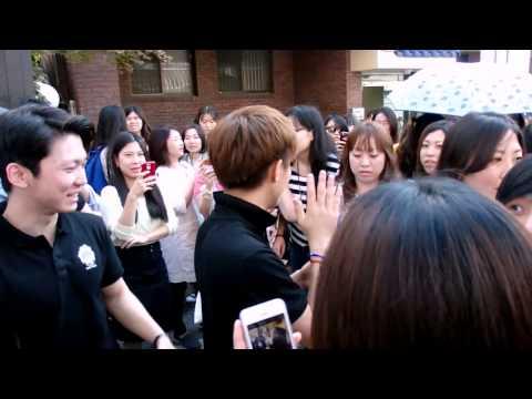 [FANCAM] 140922 WIKI CAFE -Sungmin,Sungjin,Sungdad