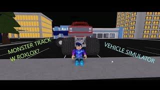 Roblox Monster Truck | VEHICLE SIMULATOR | KAREKMASLANA987