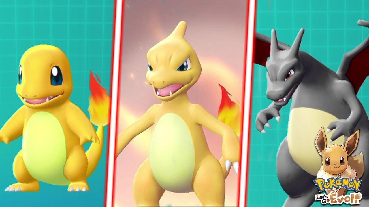 Dracaufeu Shiny Pokemon Lets Go Evoli