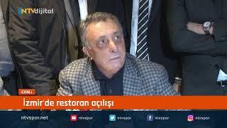 Beşiktaş Başkanı Ahmet Nur Çebi, açıklama yapıyor