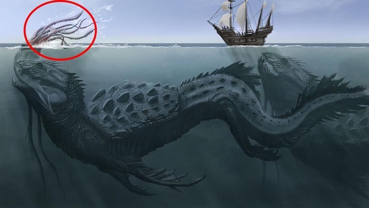 Resultado de imagen para imagenes monstruos mari9nos