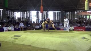 Юбилейный (20-й) Чемпионат мира по сумо  г.Осака,Япония. (JPN vs RUS)
