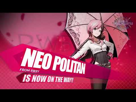 Neo joins BlazBlue Cross Tag Battle - YouTube