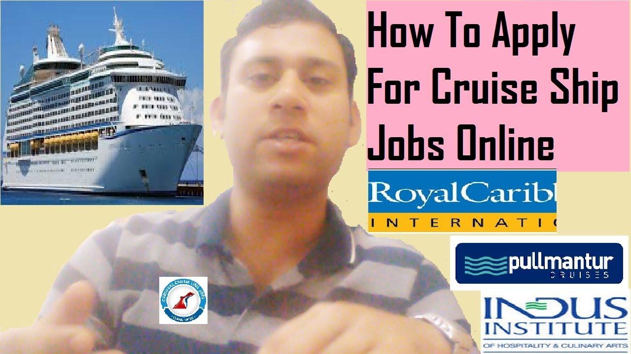 Cruise Career Make Your Future Bright On Cruise Ship YouTube - Career at cruise ship