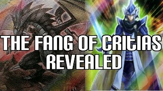 Yugioh The Fang of Critias & Legendary Knight Critias Revealed