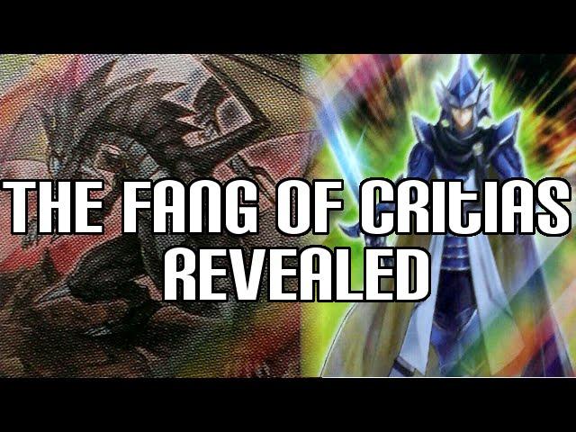 Yugioh The Fang of Critias & Legendary Knight Critias Revealed