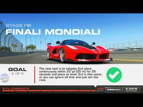 REAL RACING 3–FLASHBACK EVENTS–NO COMPROMISE–STAGE 08(FINALI MONDIALI)