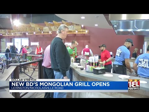 BD's Mongolian Grill Opens