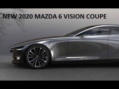 NEW 2020 MAZDA 6 VISION COUPE CONCEPT PREVIEW : SUPERCARSCLUBS