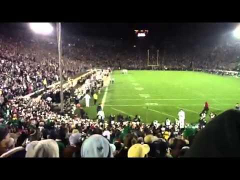Jon Bon Jovi Notre Dame Stadium - YouTube