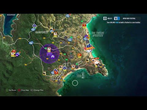 Forza Horizon 3 - Treasure Map (Unlocked!!!)