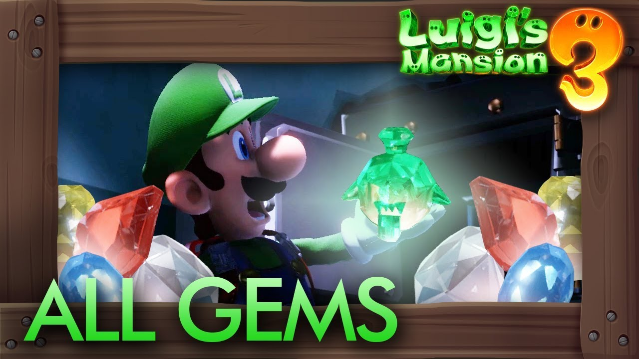 List Of All 102 Gem Locations In Luigi S Mansion 3