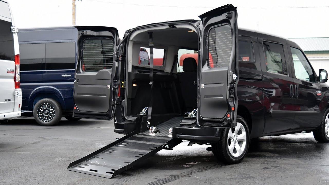 Wheelchair Van Under $40,000! 2018 Ram ProMaster City - Prime-Time Mobility  Van   28550T