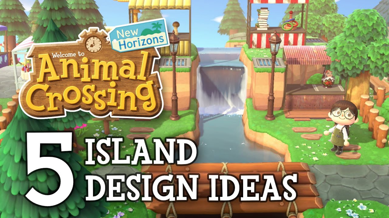 Animal Crossing New Horizons 5 Island Design Ideas Inspiration