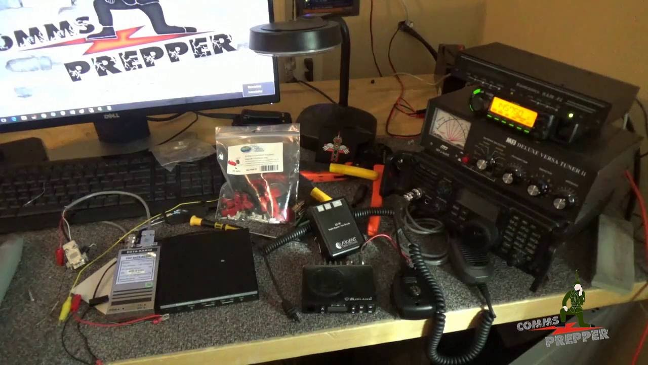 Repeat Bench Mess - Episode 2 GMRS repeater and packet