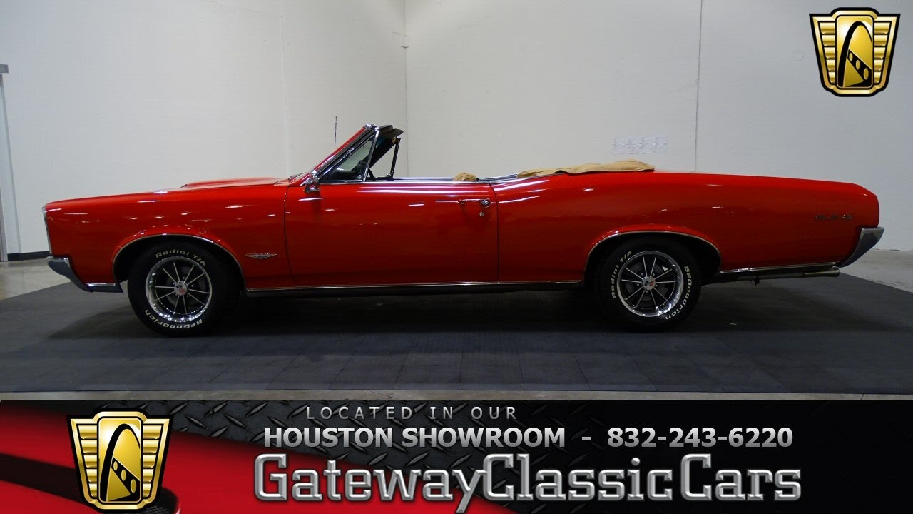 Hou Pontiac Gto Convertible Gateway Classic Cars Houston