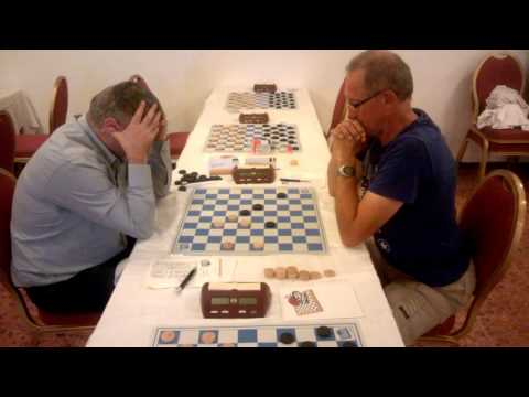 Ivanchuk playing draughts