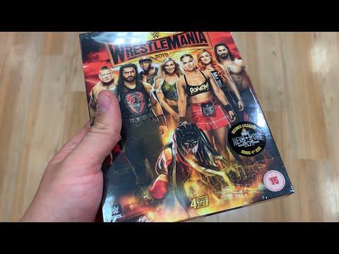 WWE Wrestlemania 35 Asda Exclusive & Sainsburys UK DVD Hunt