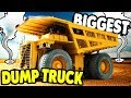 GIANT DUMP TRUCK CHASED BY TORNADO | Giant Machines 2017 Gameplay