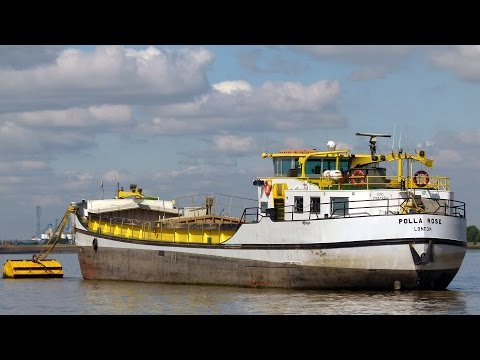 Coastal Shipping on the Thames and Medway in August 2013 Par