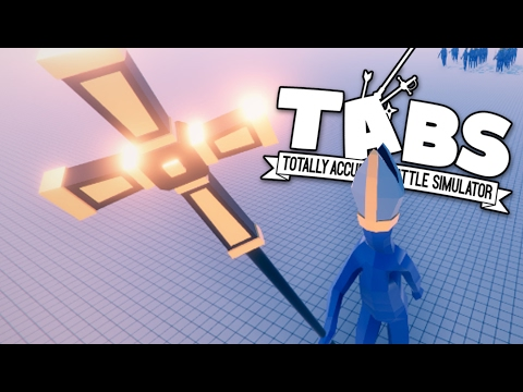 TABS - Priest Army Heals and Resurrects Footmen!- Totally Accurate Battle Simulator