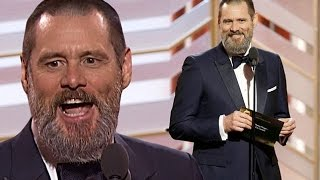 Jim Carrey ai Golden Globe 2016 [SUB ITA]