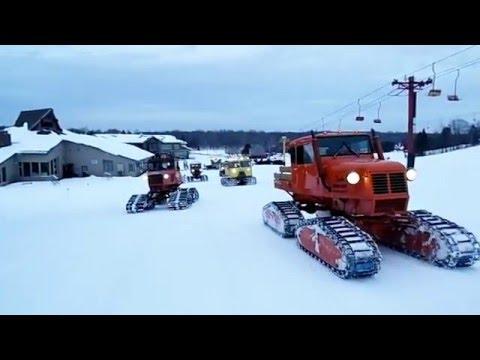 Vintage Snow Cats at Big Powderhorn