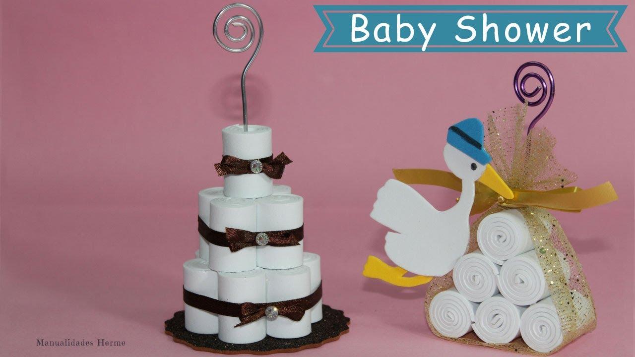 Detalles para baby shower youtube - Detalles para baby shower ...