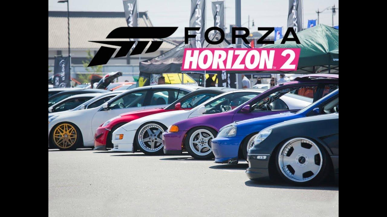 forza horizon 2 car meet jdm stickers
