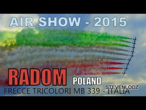 AIR SHOW 2015 Radom - Zespół Frecce Tricolori (MB-339) - Italia